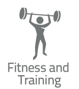 Fitness and Training Icon