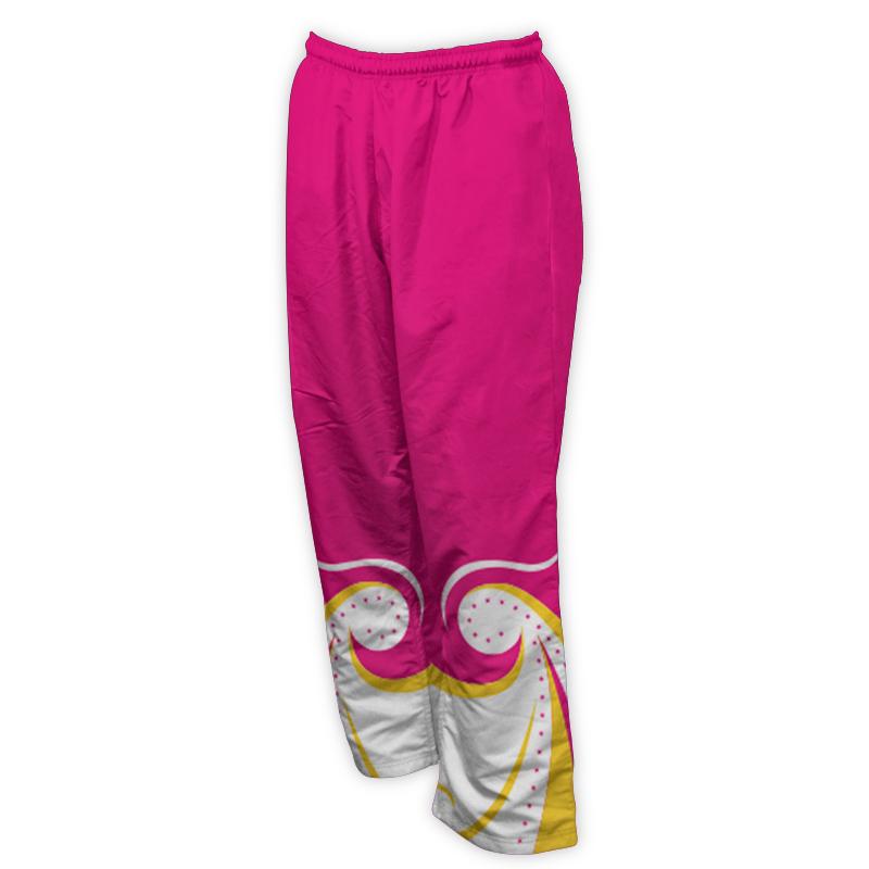 Unisex Gymnastics Microfibre Track Pants 012