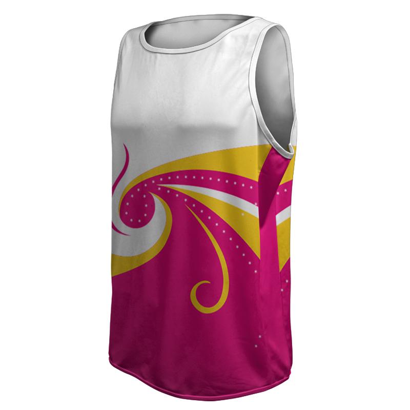 Unisex Round Neck Gymnastics Singlet 012