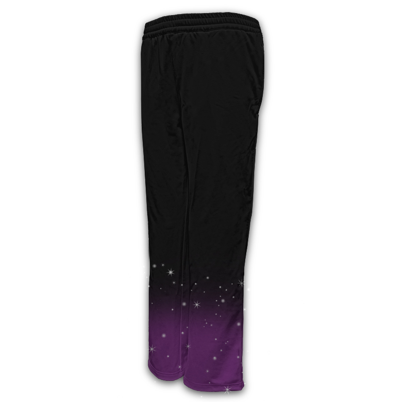 Ladies Gymnastics Activewear Track Pants Design 013