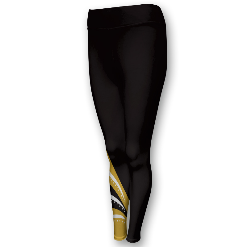 Gymnastics Full Length Comfort Waist Tights 001