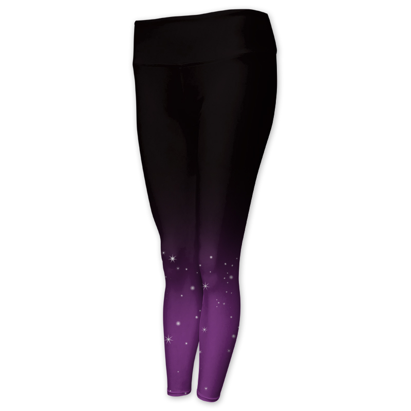 Gymnastics Full Length Comfort Waist Tights 013