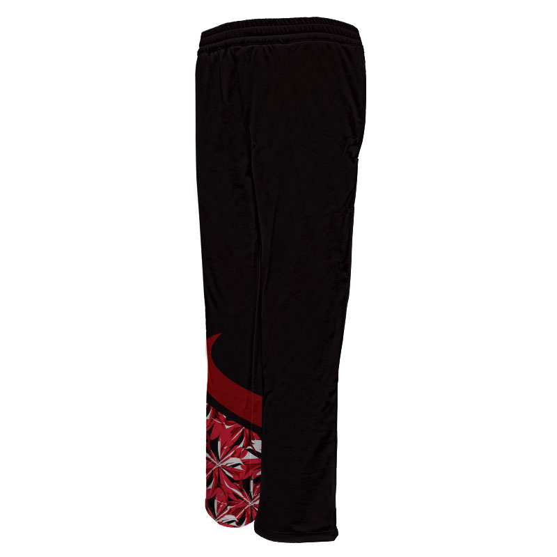 Ladies Gymnastics Activewear Track Pants Design 008