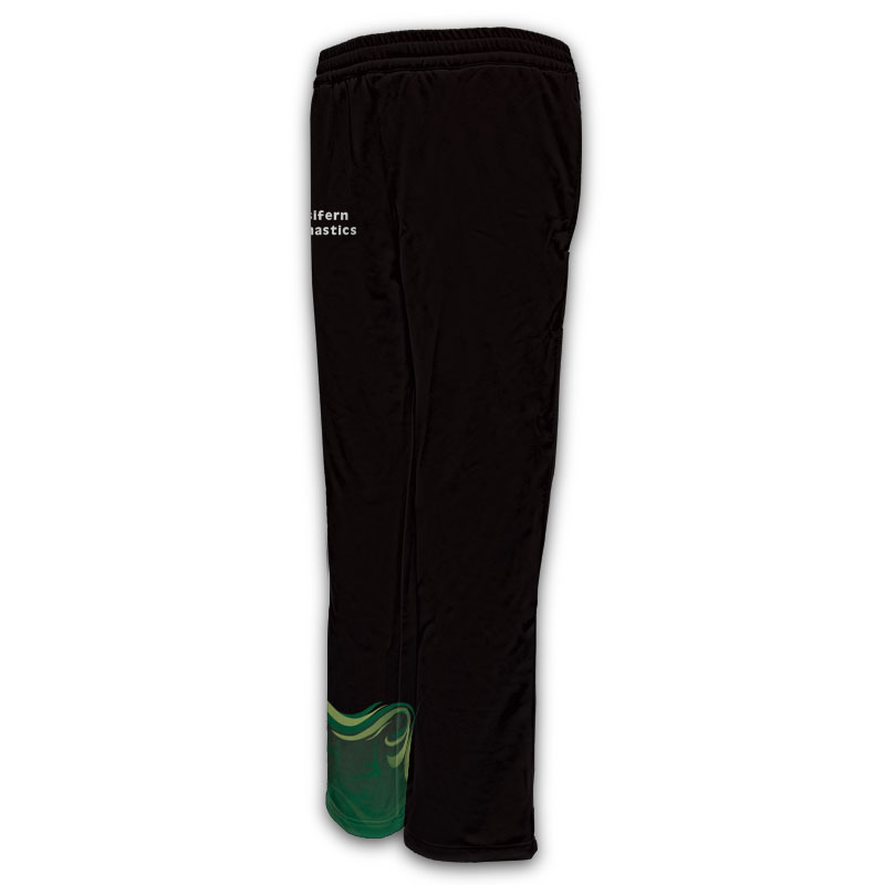 Ladies Gymnastics Activewear Track Pants Design 009