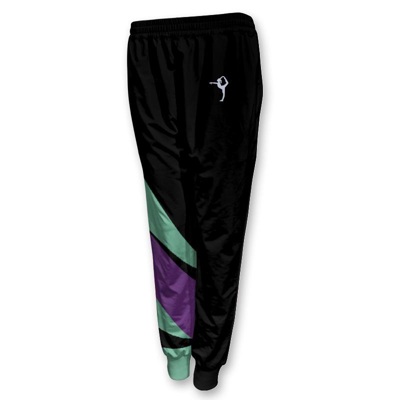 Ladies Gymnastics Activewear Track Pants with Cuffs 006