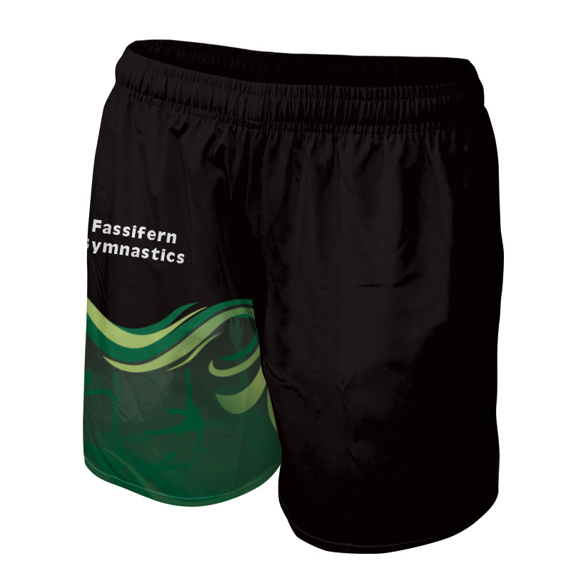 Ladies Gymnastics Training Shorts 009