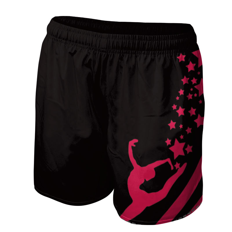 Ladies Gymnastics Training Shorts 010