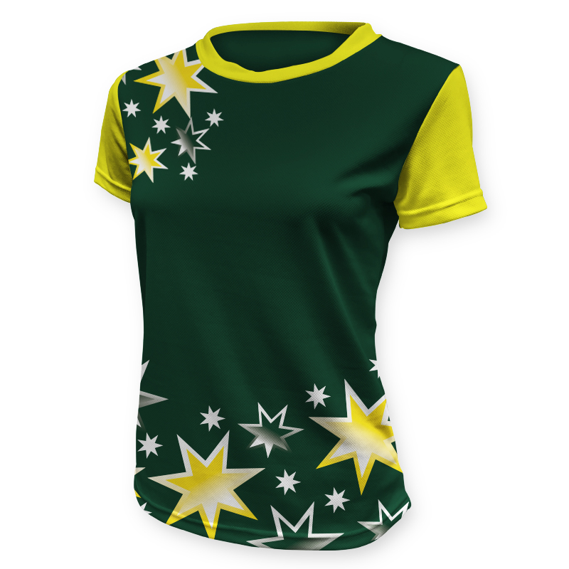 Ladies Custom Netball Tee 007
