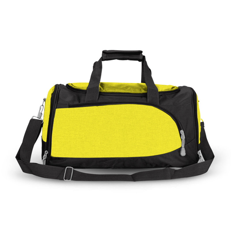 Training Sports Bag - Black & Yellow