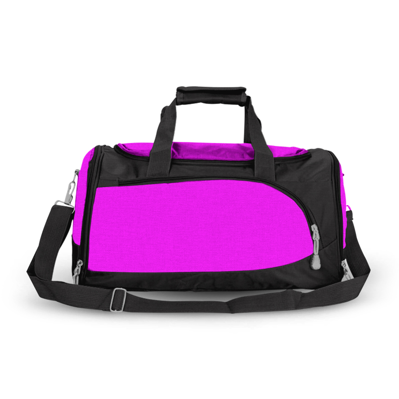 Training Sports Bag- Bright Pink and Black