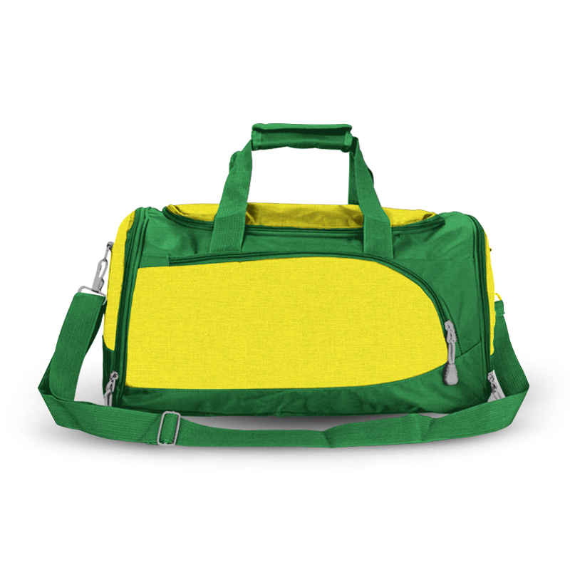 Training Sports Bag - Green & Yellow