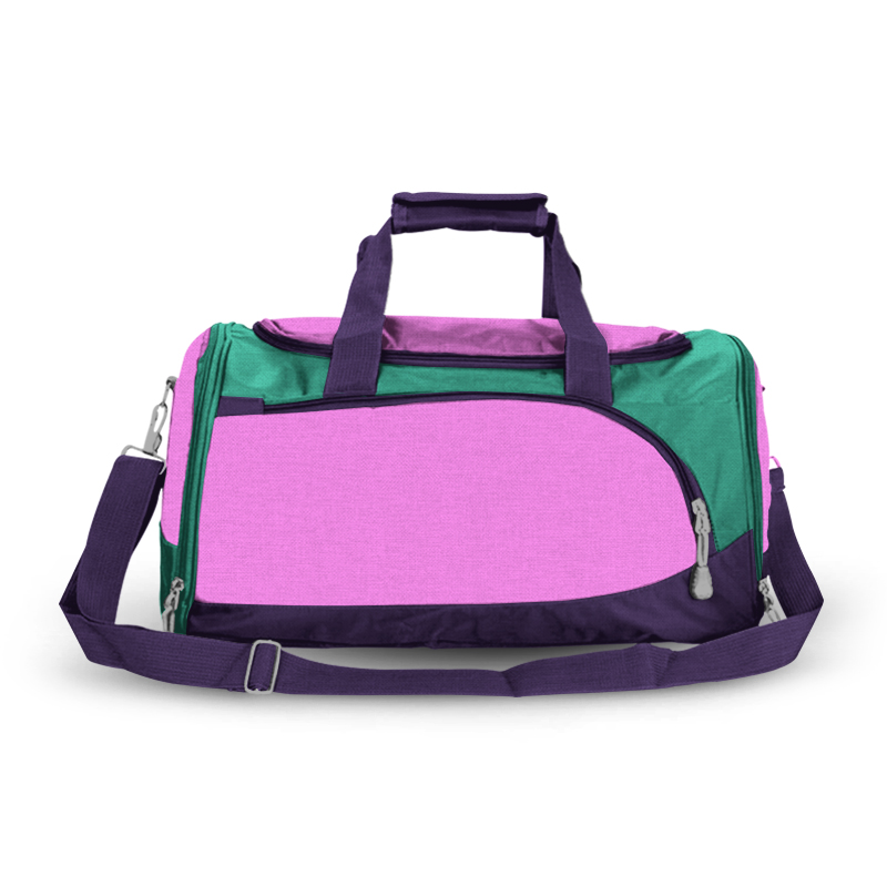 Training Sports Bag - Pink, Teal & Purple