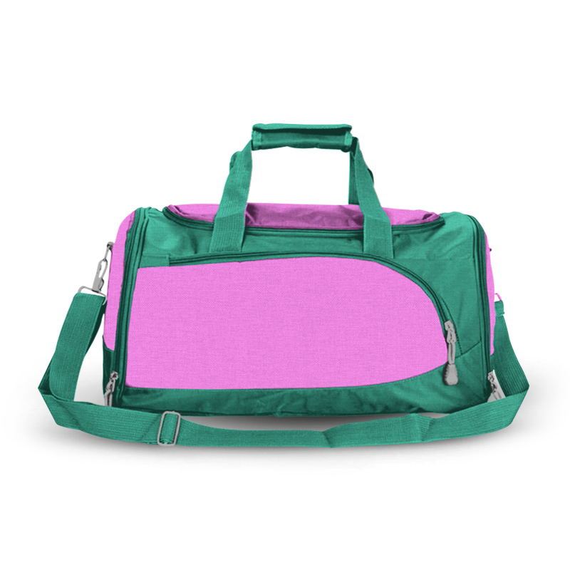 Training Sports Bag - Teal & Pink