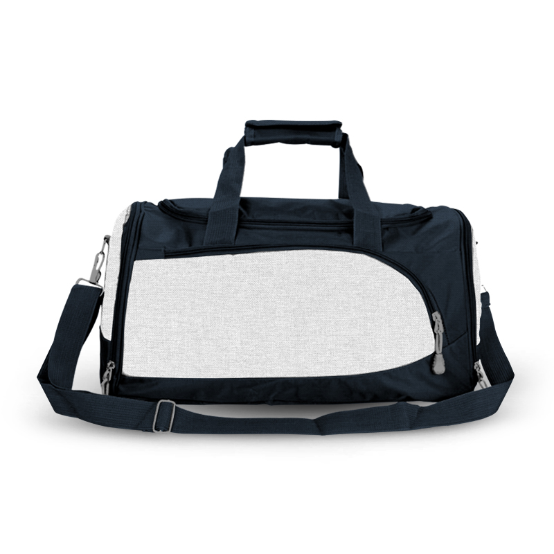 Training Sports Bag - White & Navy