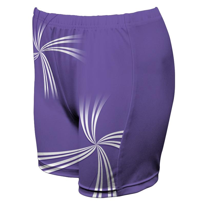 Ladies Custom Netball Boy Leg Tights 009
