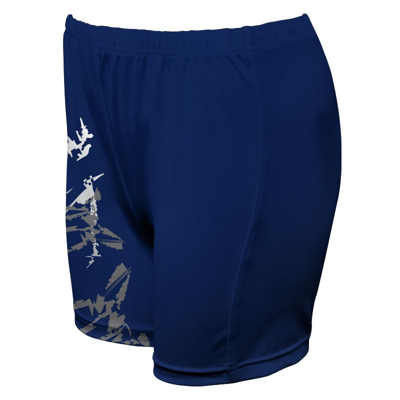 Ladies Custom Netball Boy Leg Tights 018