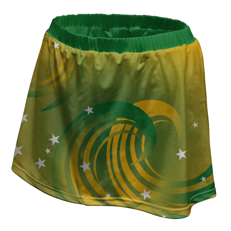 Ladies Custom Netball Skirt 002