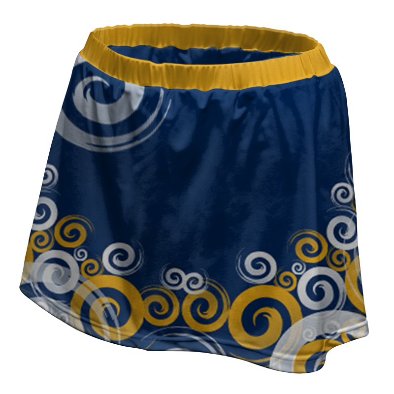 Ladies Custom Netball Skirt 003