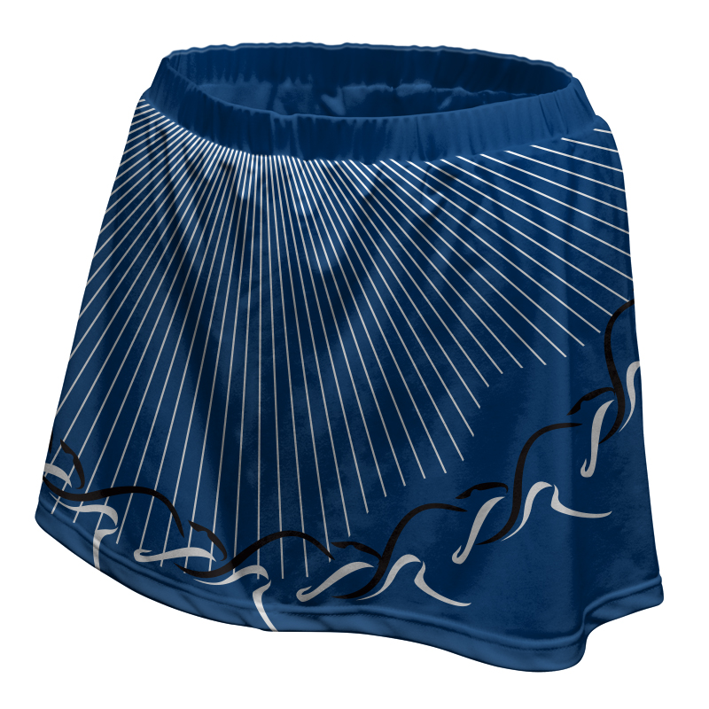 Ladies Custom Netball Skirt 004