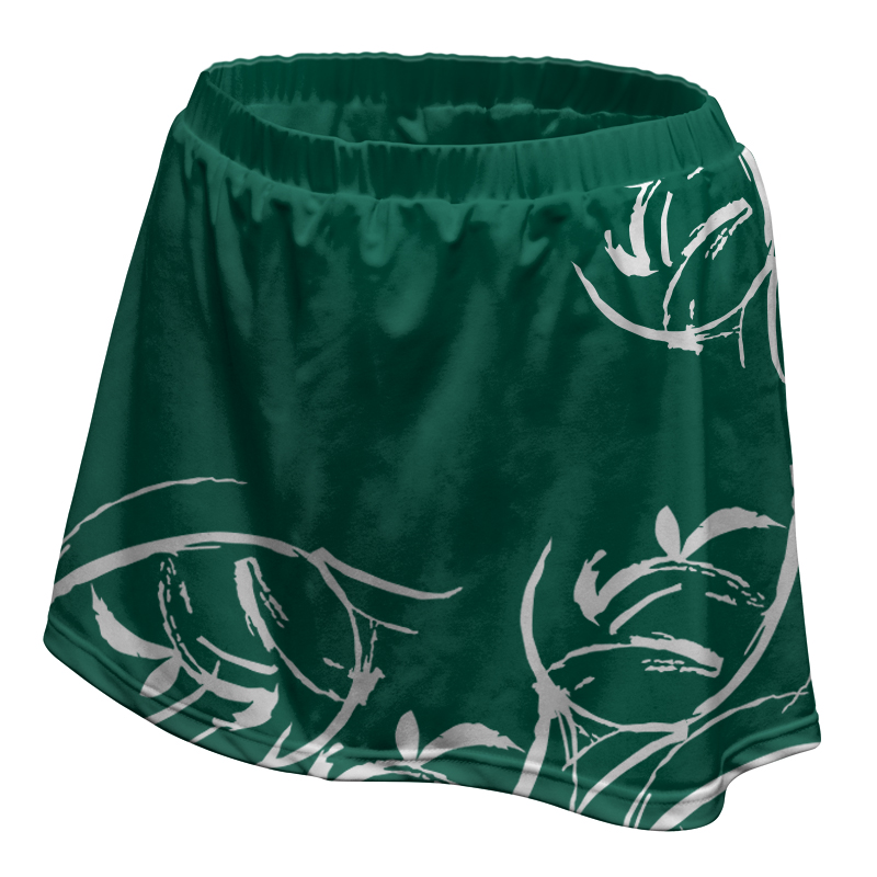 Ladies Custom Netball Skirt 005