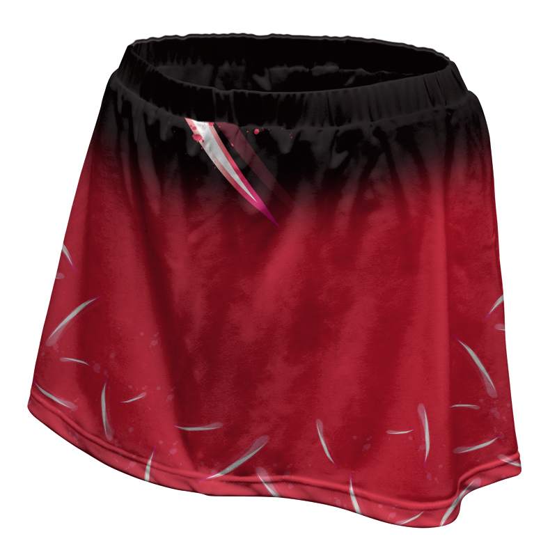 Ladies Custom Netball Skirt 006