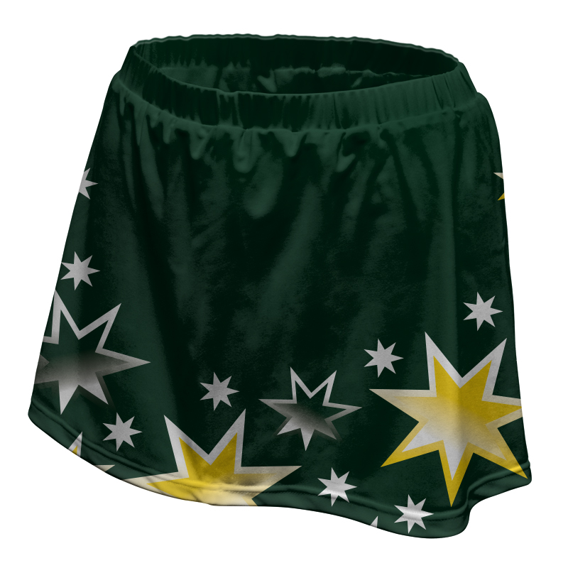 Ladies Custom Netball Skirt 007