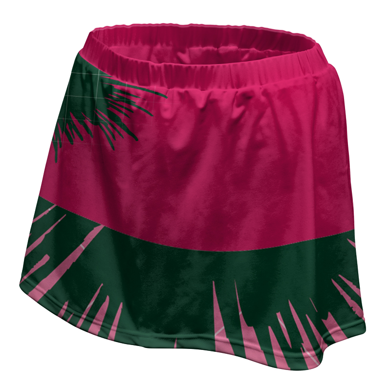 Ladies Custom Netball Skirt 008