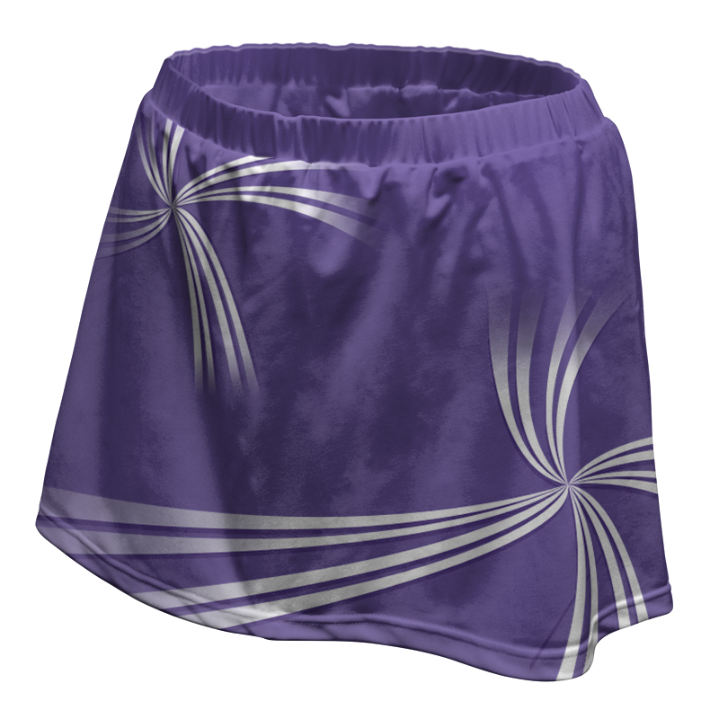 Ladies Custom Netball Skirt 009