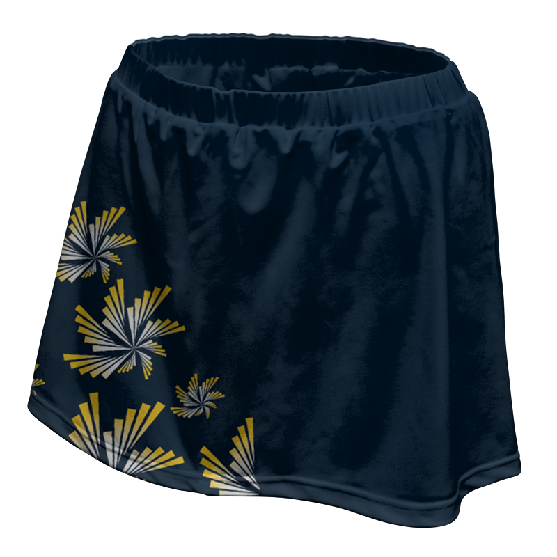 Ladies Custom Netball Skirt 011