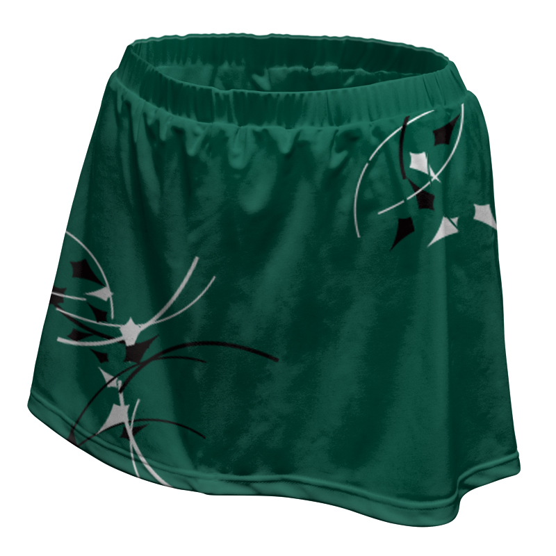 Ladies Custom Netball Skirt 014