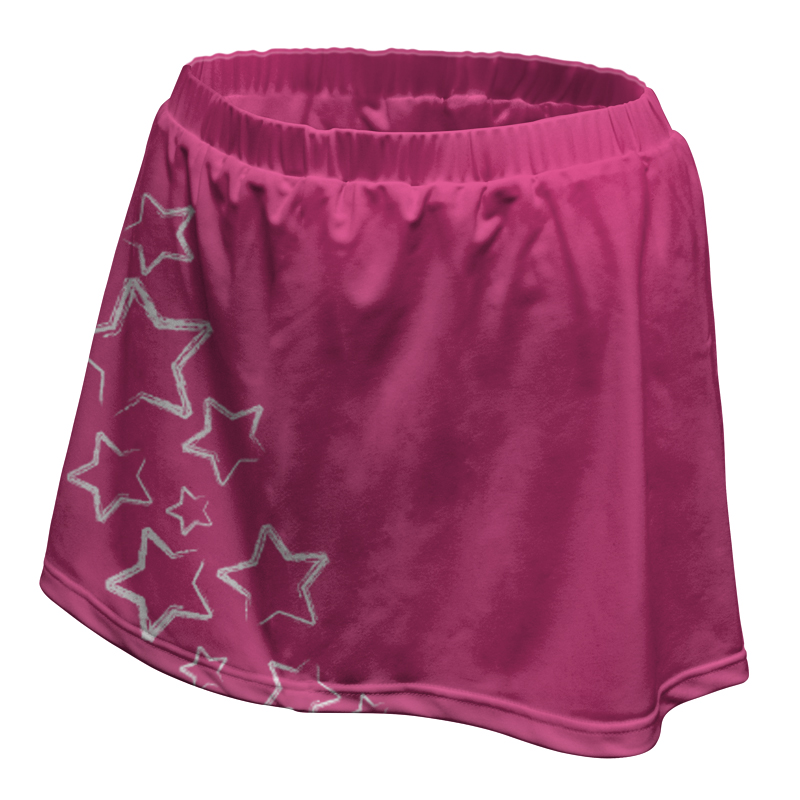 Ladies Custom Netball Skirt 016