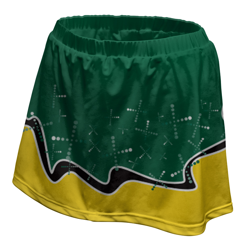 Ladies Custom Netball Skirt 017