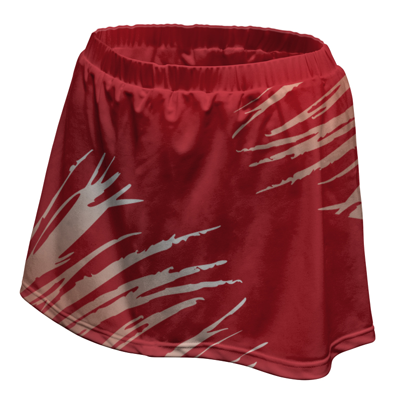 Ladies Custom Netball Skirt 019