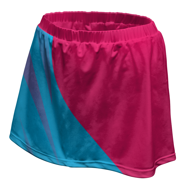 Ladies Custom Netball Skirt 022