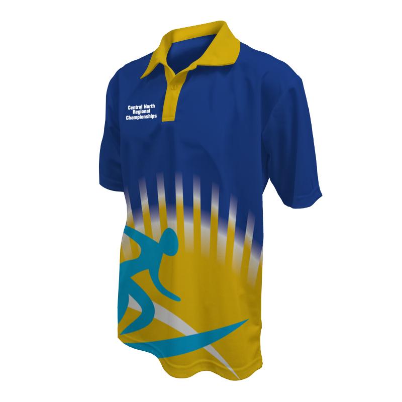 Unisex Custom Athletics Polo 017