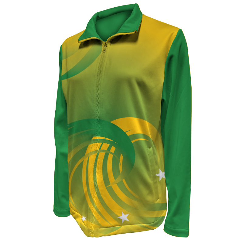 Custom Ladies Netball Warm Up Jacket 002