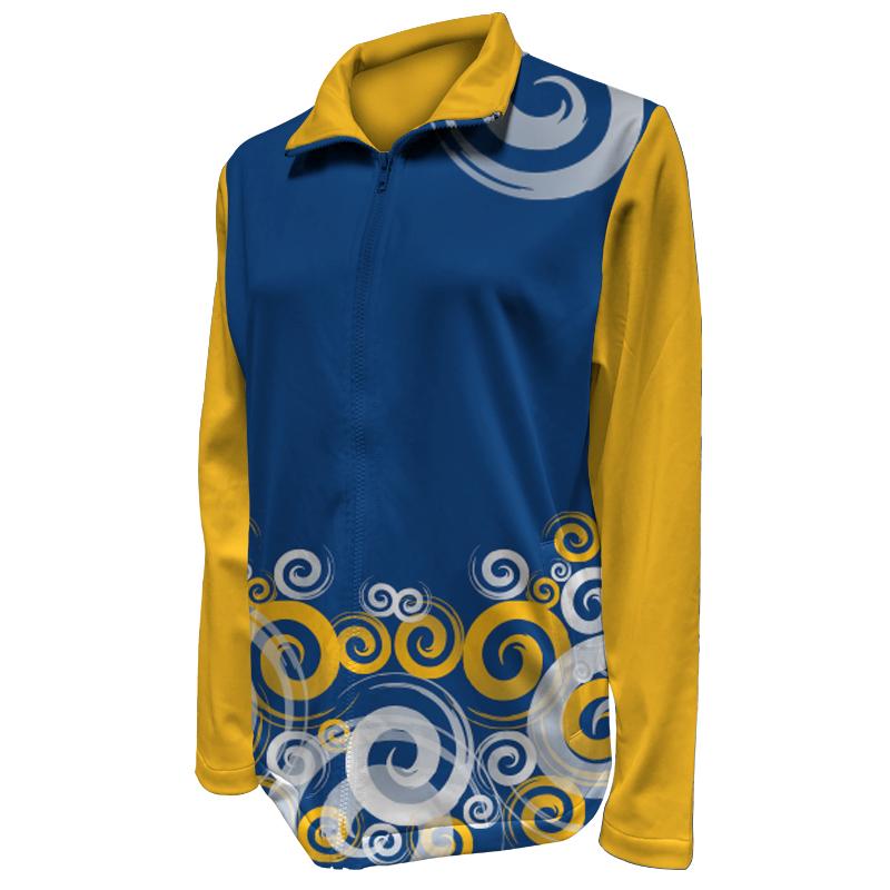Custom Ladies Netball Warm Up Jacket 003