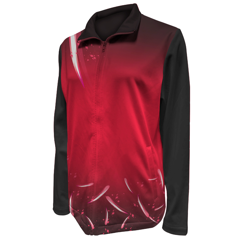 Custom Ladies Netball Warm Up Jacket 006