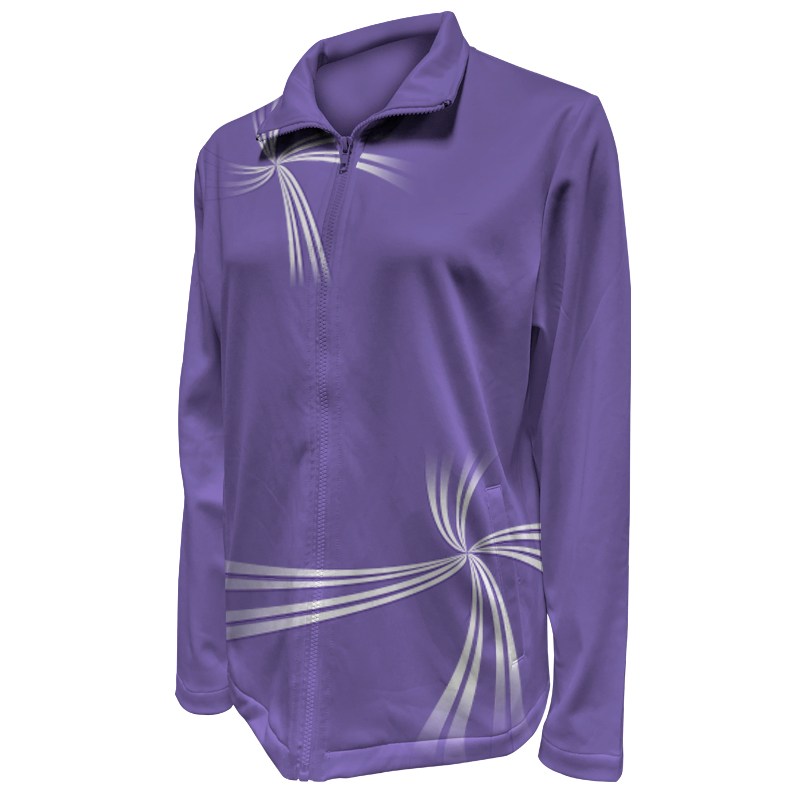 Custom Ladies Netball Warm Up Jacket 009