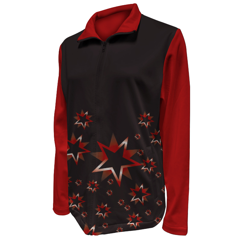 Custom Ladies Netball Warm Up Jacket 010