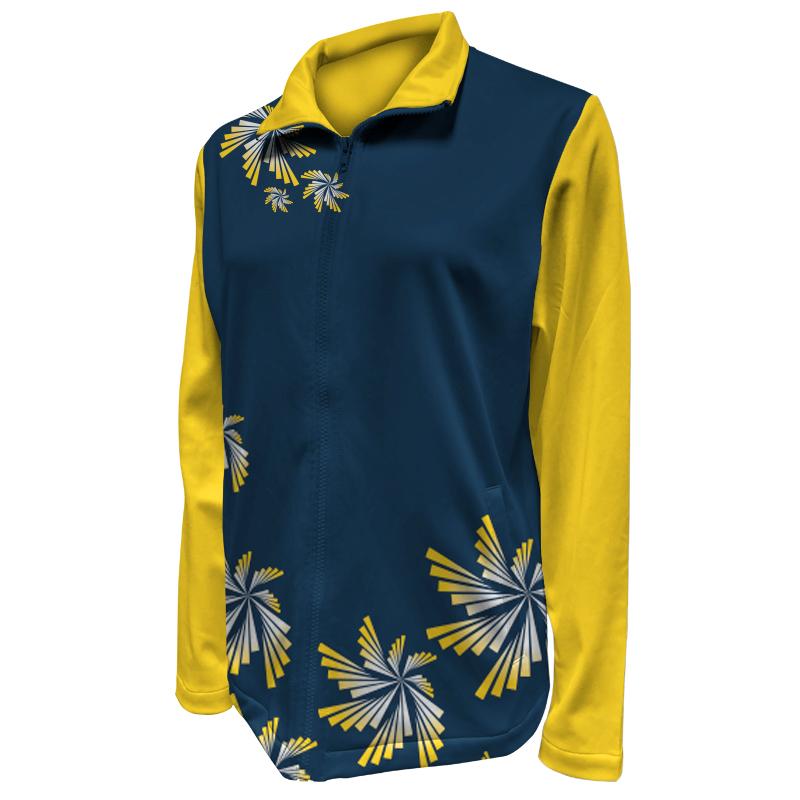 Custom Ladies Netball Warm Up Jacket 011