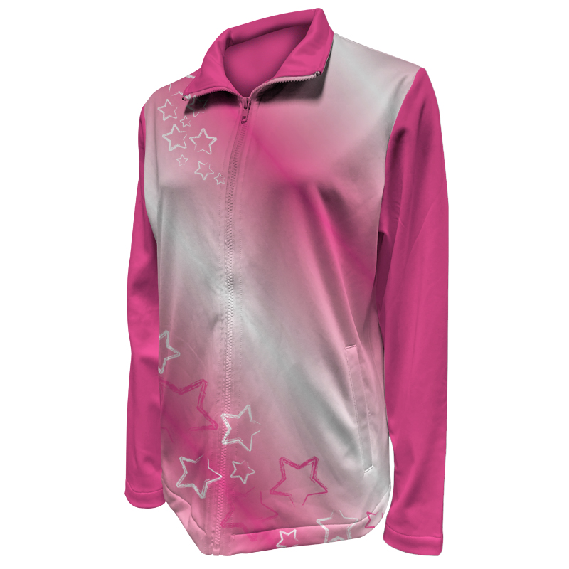 Custom Ladies Netball Warm Up Jacket 016