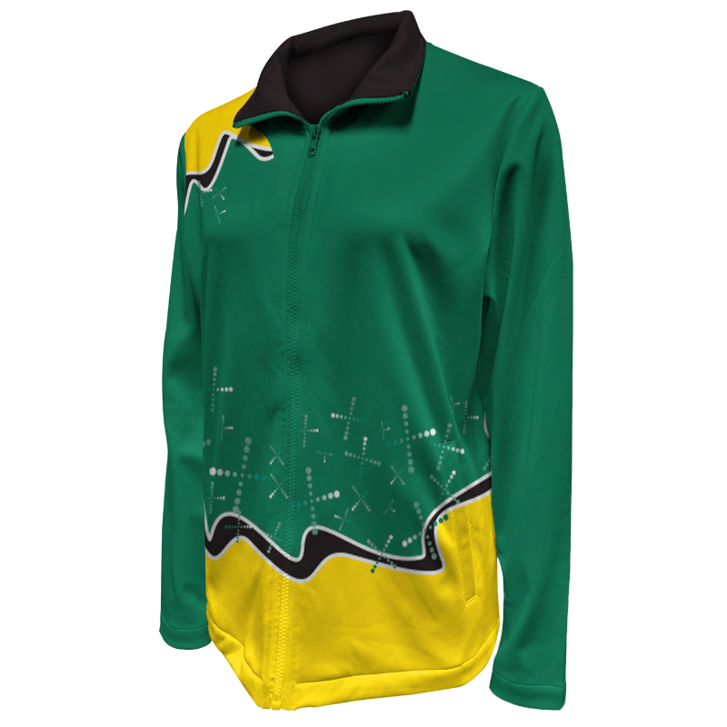 Custom Ladies Netball Warm Up Jacket 017