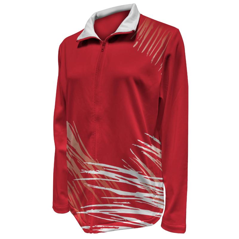 Custom Ladies Netball Warm Up Jacket 019