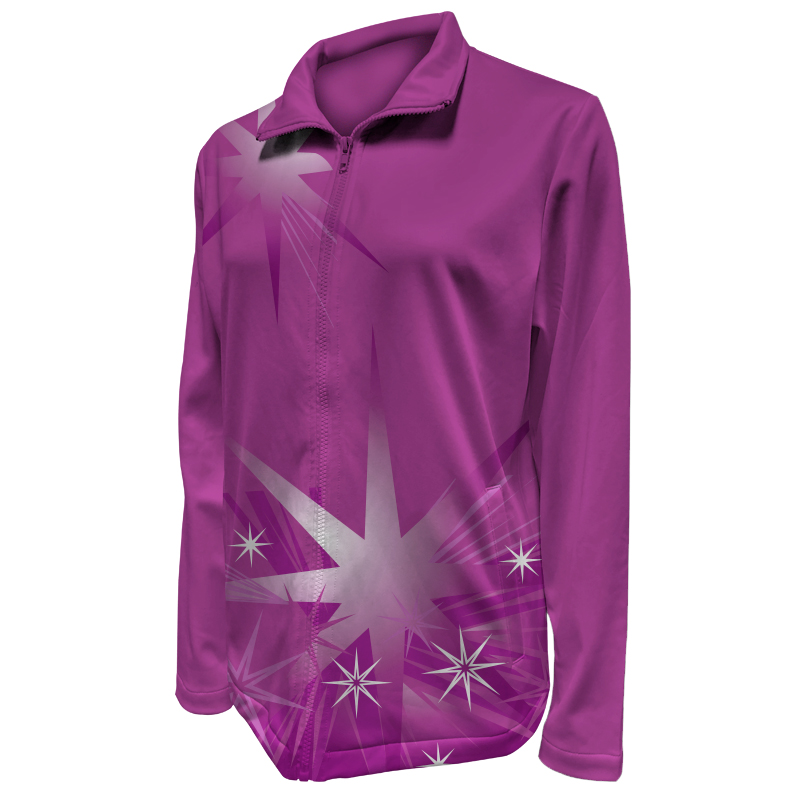 Custom Ladies Netball Warm Up Jacket 020