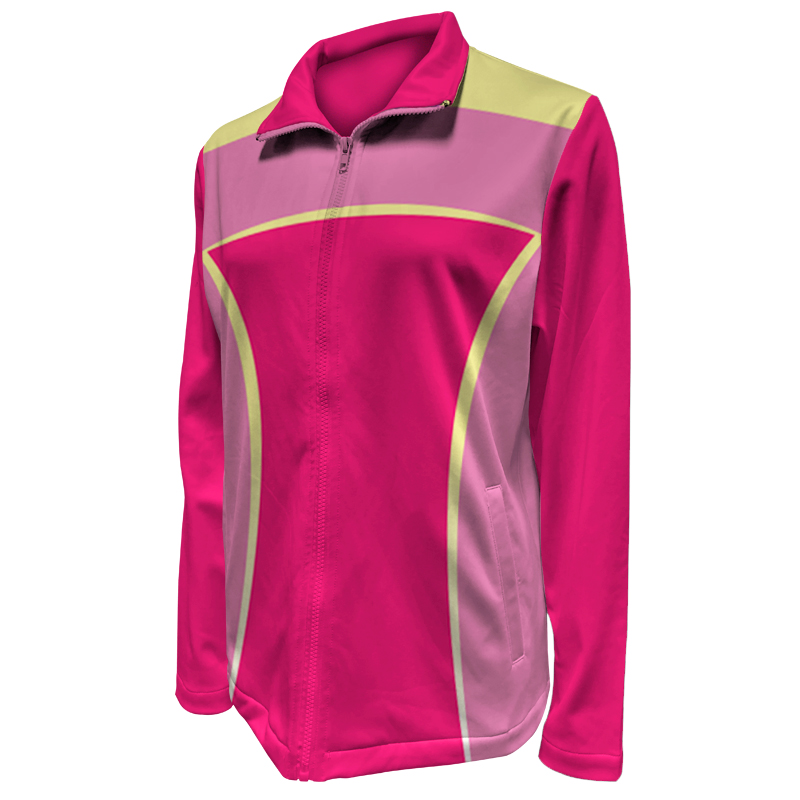 Custom Ladies Netball Warm Up Jacket 021