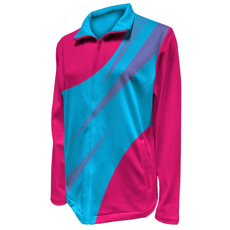 Custom Ladies Netball Warm Up Jacket 022