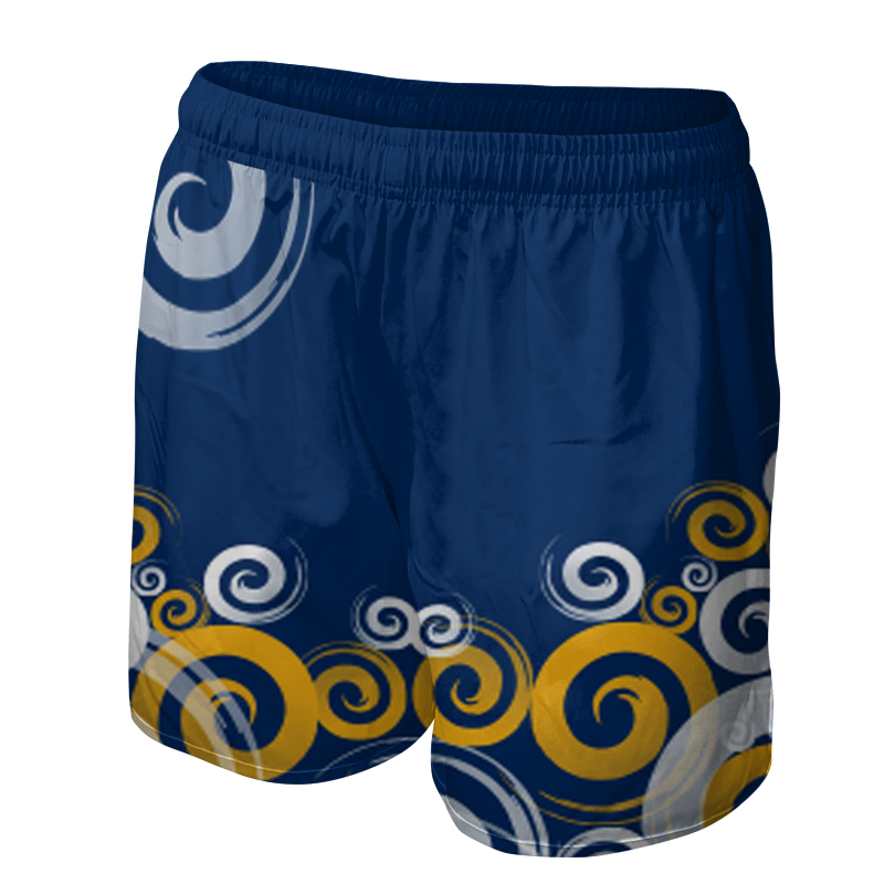 Ladies Custom Netball Training Shorts 003