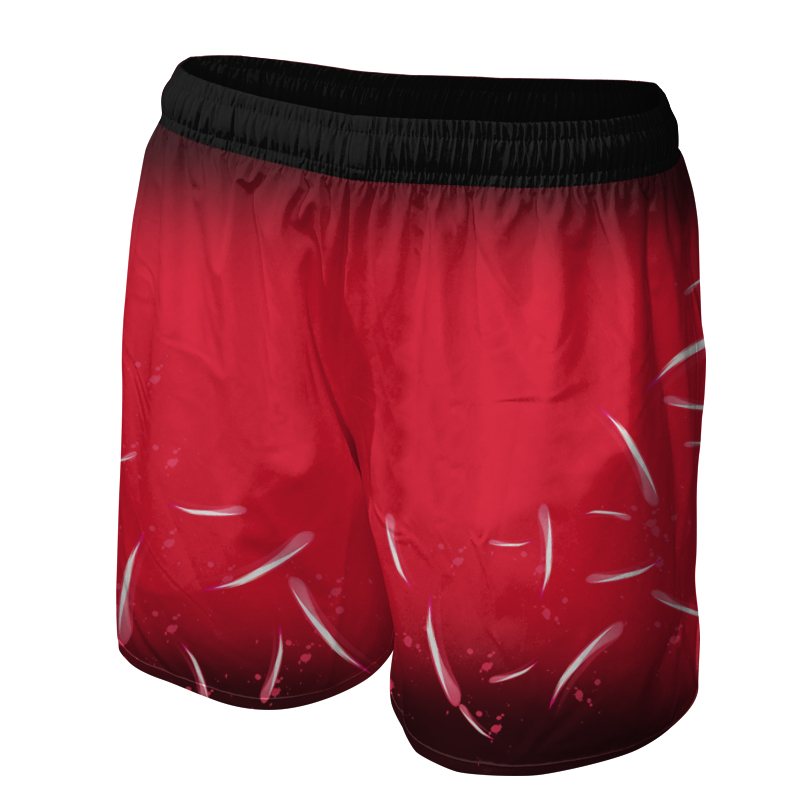 Ladies Custom Netball Training Shorts 006