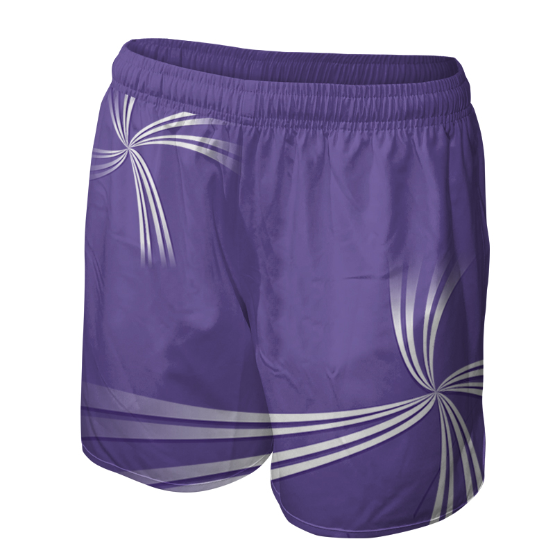 Ladies Custom Netball Training Shorts 009
